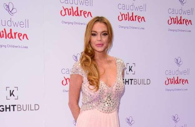 Lindsay Lohan's 100k tax bill, Report