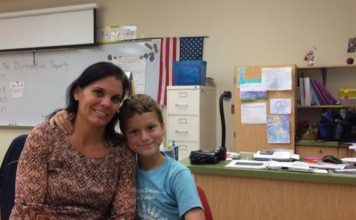Donna Hoagland donates kidney to student's sick mother