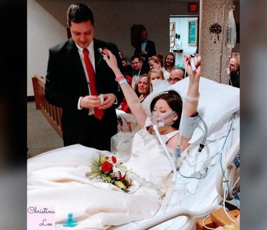 Heather Mosher battling cancer dies hours after hospital wedding