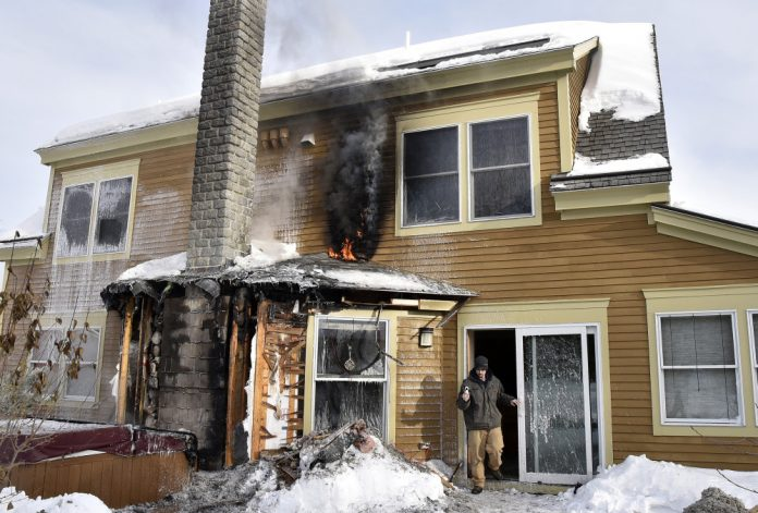 Maine hero dog saves family from fire