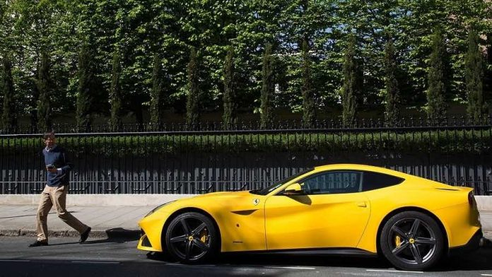 Valet gives Ferrari to wrong man