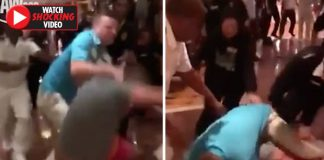 Brawl on cruise ship: Watch passengers let fists fly