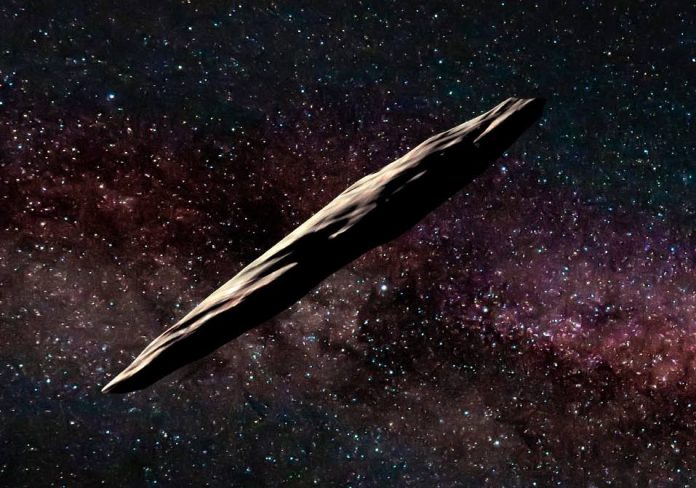 Cigar-shaped interstellar asteroid experienced violent past, says new research