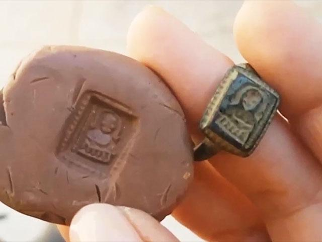 Santa Claus Ring Discovered in Jezreel Valley [Video]