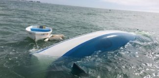 Tanner Broadwell and Nikki Walsh, couple sells all for sailboat venture, it sinks on day 2