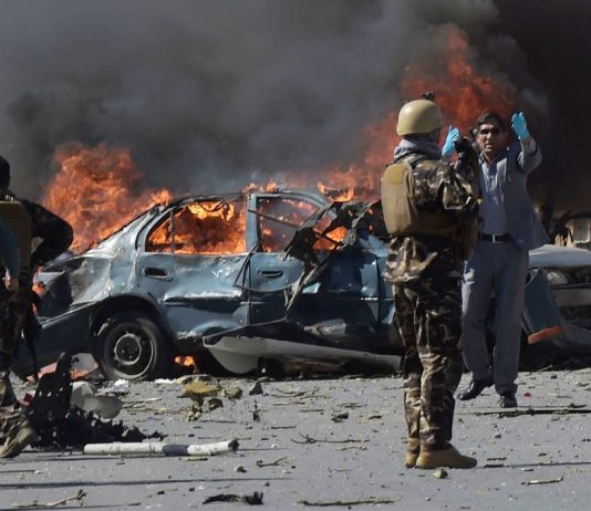 Kabul bomb attack leaves at least 30 dead
