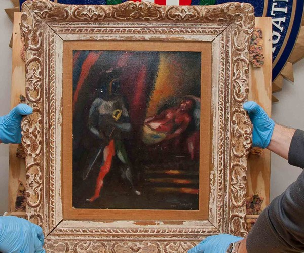 Marc Chagall Painting in NYC Returned After 30 Years