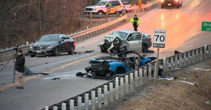 Richmond Hill Crash: Woman in Lamborghini killed
