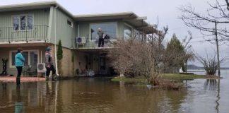 Flooding hits parts of New Brunswick