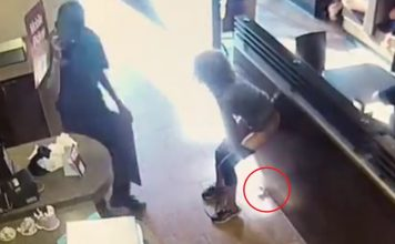 Langley Tim Hortons: Woman Furiously Shits On Floor (Video)