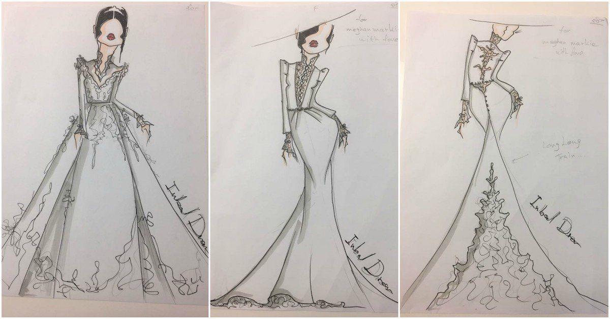 Meghan Markle Wedding Dress Sketches Leak on Internet   The ...