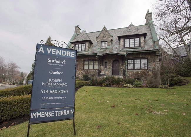 Montreal home sales up, Report