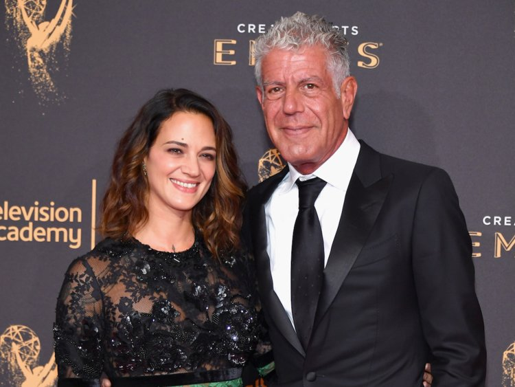 Asia Argento 'beyond devastated' after Anthony Bourdain's death
