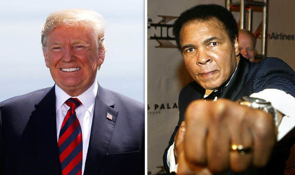 Trump considers pardon for Muhammad Ali