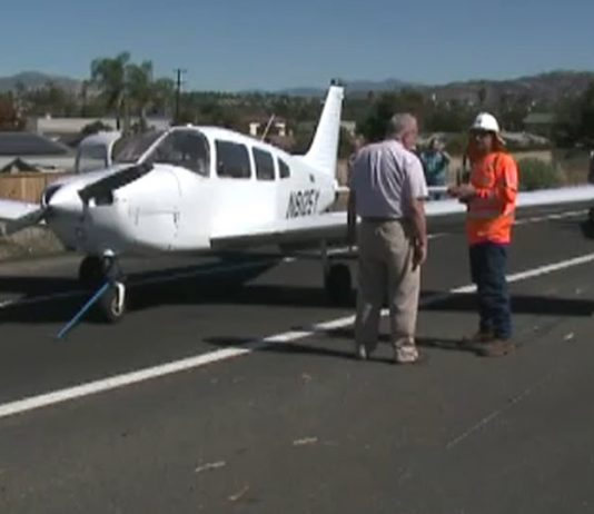 California freeway landing: Flight instructor makes emergency landing