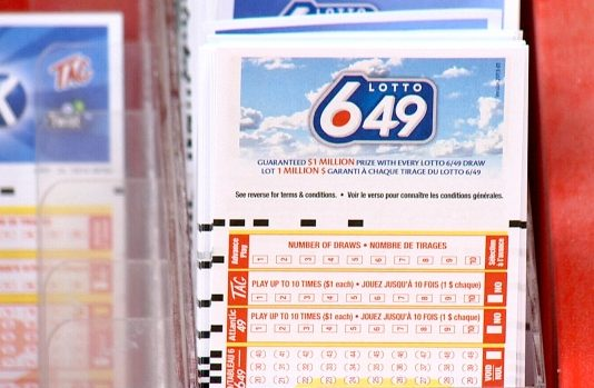 $1-million Lotto 6/49 ticket that was purchased in Victoria
