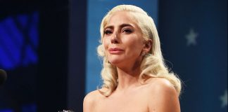 Lady Gaga leaves awards to see dying horse (Video)
