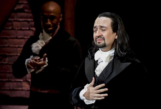 Lin-Manuel Miranda raps fan for filming Hamilton, Report
