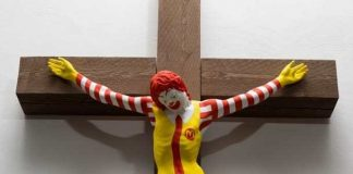 McJesus sculpture sparks controversy in Israel (Reports)