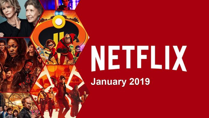 New on Netflix January: Movies & Series Coming