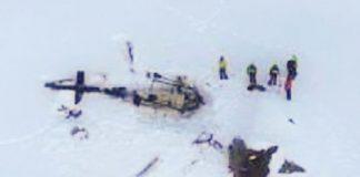 Plane, helicopter collision in Italian Alps kills five