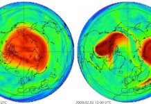 Polar vortex splits, sending frigid air howling into the US