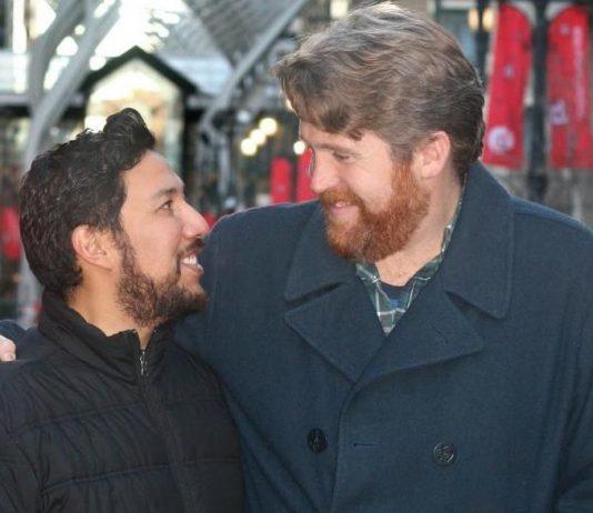 Ricardo Miranda, makes history with same-sex marriage