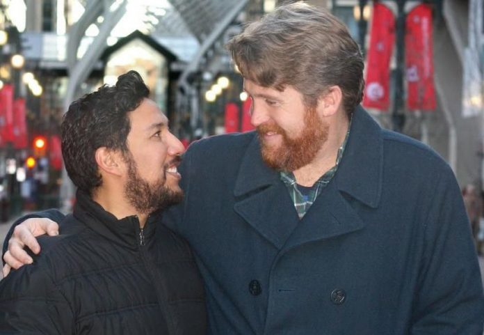 Ricardo Miranda, makes history with same-sex marriage