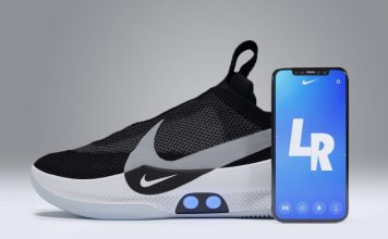 Self-lacing shoes app: technology designed for athletes