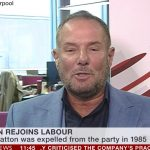 Derek Hatton rejoins Labour Party after 34 years