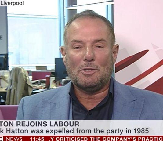 Derek Hatton rejoins Labour Party after 34 years