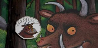 First look at new Gruffalo 50p coin which goes on sale today (Reports)