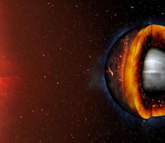 Study: Liquifying a rocky exoplanet