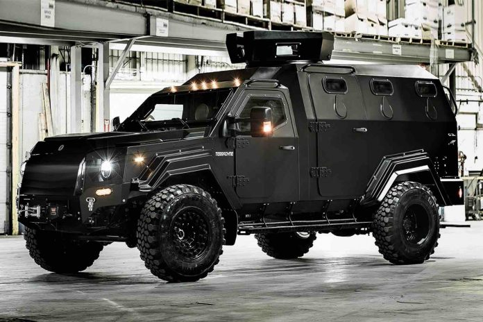 Controversial armoured car for Halifax police to arrive in spring 2020
