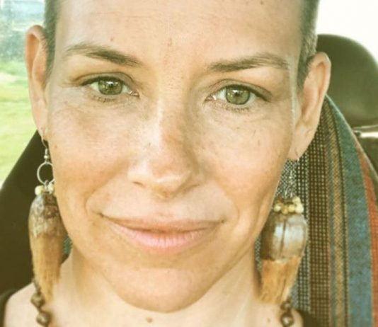 Evangeline Lilly Shaves Her Head: Gave Herself a Buzzcut