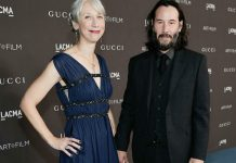 Keanu Reeves Goes Public With First Girlfriend (Picture)