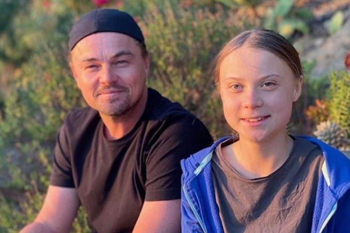 "Leonardo DiCaprio praises Greta Thunberg a ""leader of our time"", Report"