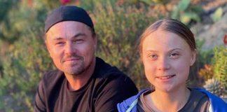 """Leonardo DiCaprio praises Greta Thunberg a """"leader of our time"""", Report"""