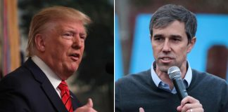 Trump says Beto O'Rourke 'quit like a dog', Report