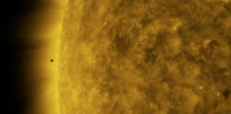 Video: SDO caught the Mercury transit from space