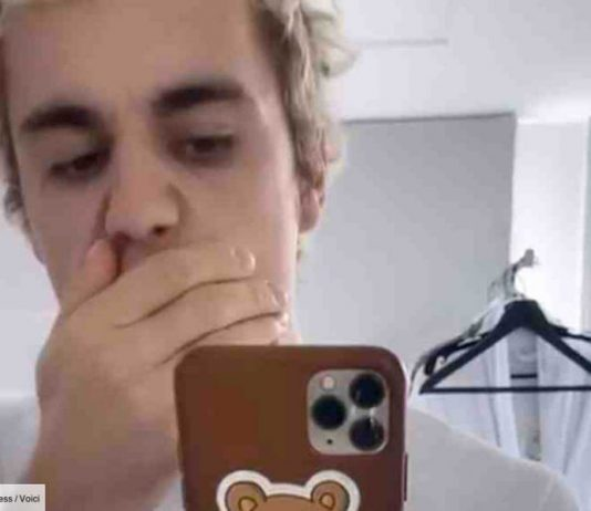 Bieber's moustache has taken a 'holiday' (Photo)