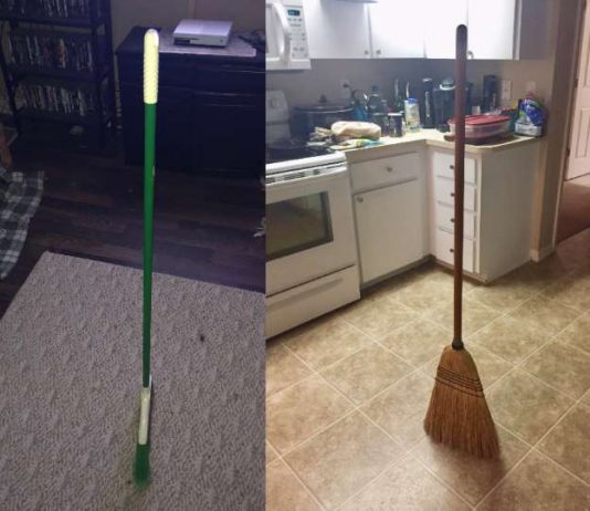 Broom challenge or broom hoax? (Details)
