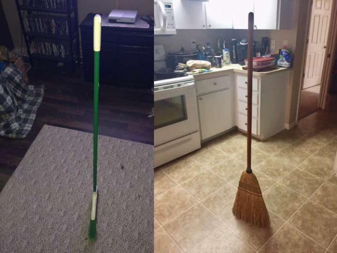 Broom challenge or broom hoax? (Details)