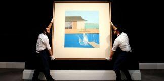 David Hockney's 'The Splash' sells for $29.8 million at auction