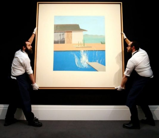 David Hockney's 'The Splash' sells for $29.8 million at auction