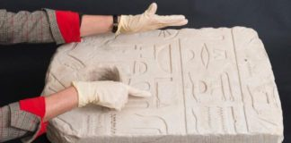 Egyptian Anchor With Defaced Goddess Found Off Shore of Israel