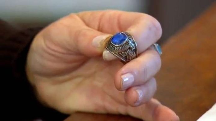 Lost ring shows up 47 years later in a forest in Finland