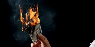 Man burned 1 million to keep ex-wife from getting it