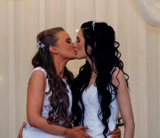 Northern Ireland's first same-sex marriage (Photo)