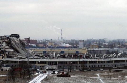 Russia: Worker dies in sport stadium roof collapse